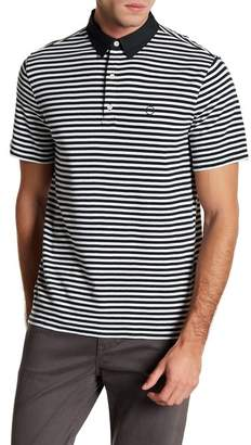 AG Jeans LPC Short Sleeve Stripe Polo Shirt