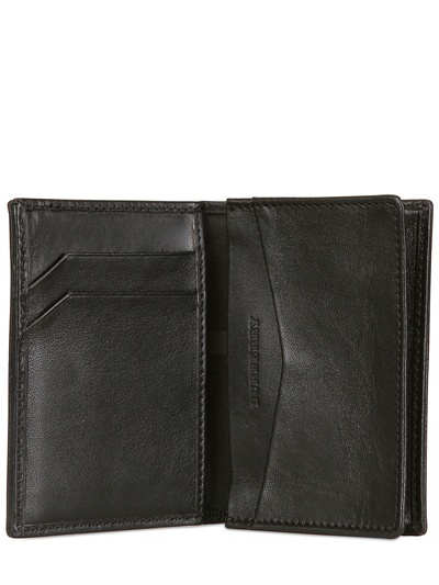 Burberry Business Leather Credit Card Holder
