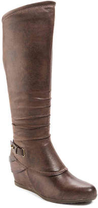 Bare Traps Tesa Wide Calf Wedge Boot - Women's