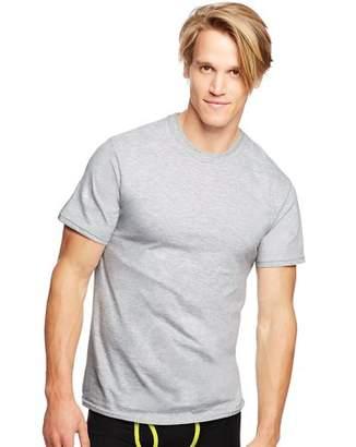 Hanes Men's Classics Traditional Fit ComfortSoft Tagless Crewneck Undershirt (3-Pack)