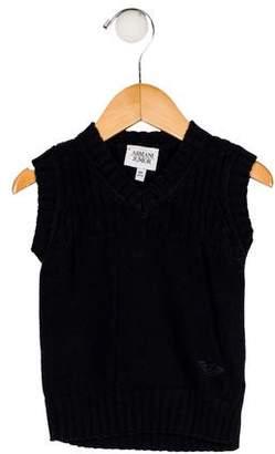 Armani Junior Boys' Knit Vest