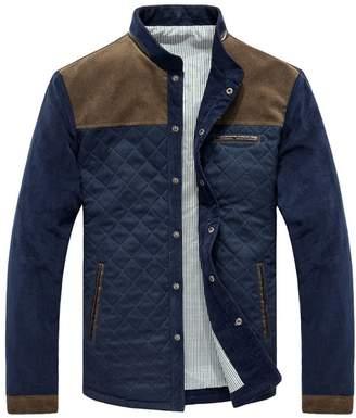 JNTworld Corduroy jacket fall and winter clothes Korean Slim jacket coat Men , XL