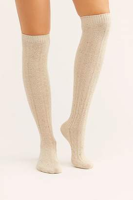 Pocono Over-The-Knee Cable Socks