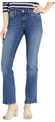 Mavi Jeans Molly Mid-Rise Bootcut in Indigo Supersoft