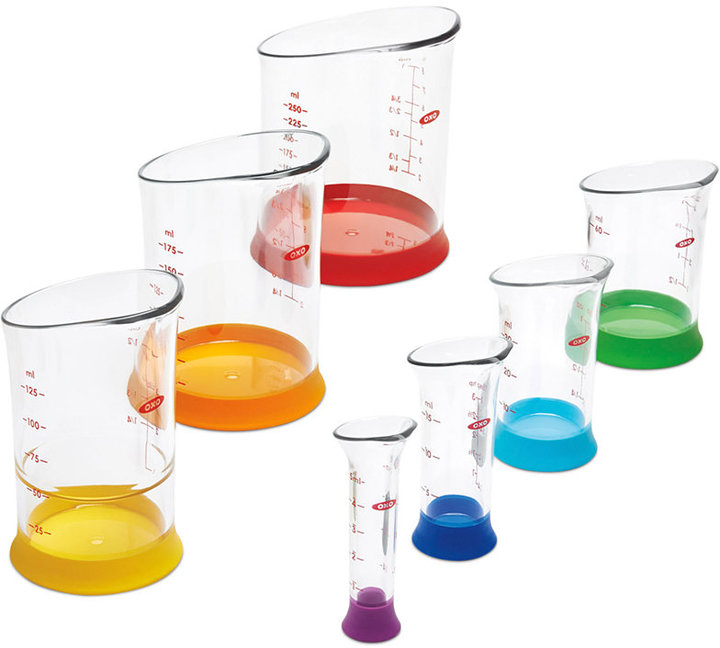OXO Good Grips 7-Piece Liquid Measuring Beaker Set