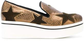Stella McCartney Binx Star slip-on sneakers