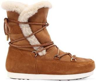 Moon Boot Far Side High Shearling Boots