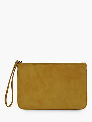 889d1d24e8e6 Hobbs Chelsea Leather Wristlet Clutch Bag