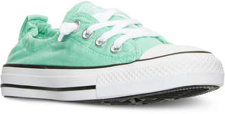 Converse Women's Chuck Taylor Shoreline Casual Sneakers from Finish Line $54.99 thestylecure.com
