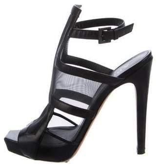 Aperlaï Mesh Cutout Sandals