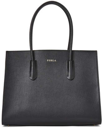 Furla Amina Medium Leather Tote