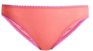 Araks Isabella Cotton Briefs - Womens - Pink