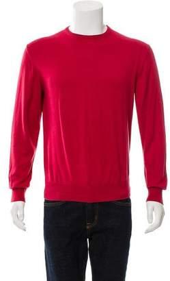 Loro Piana Crew Neck Long Sleeve Sweater