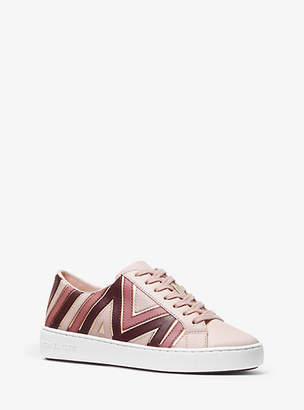 Michael Kors Whitney Tri-Color Leather Sneaker