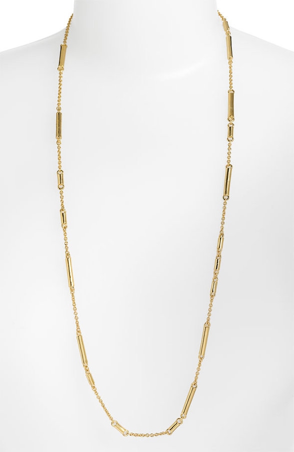 Kate Spade New York 'bar None' Long Station Necklace