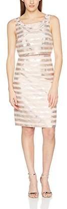 Jacques Vert Women's Stripe Shelf Party Dress