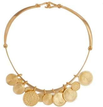 Joelle Gagnard Kharrat - Moneta Drop Pendant Necklace - Womens - Gold