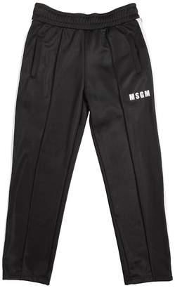 MSGM Logo Detail Track Pants