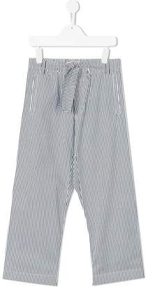 Marni striped wide leg trousers