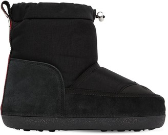 DSQUARED2 20mm Nylon & Suede Snow Boots
