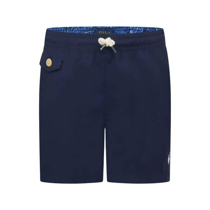 Ralph Lauren Cruise CollectionBoys Navy Swim Shorts