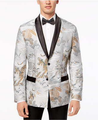 INC International Concepts I.N.C. Men's Slim-Fit Smoking Jacket, Created for Macy's