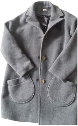 Armor Lux Armor-lux Grey Wool Coat for Women