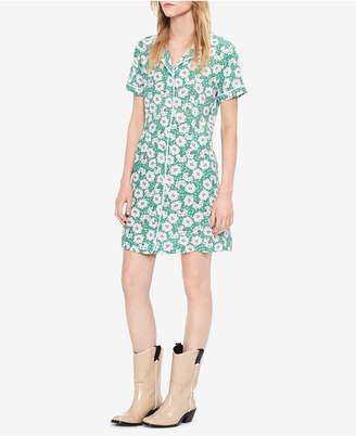 Calvin Klein Jeans Floral-Print Shirtdress
