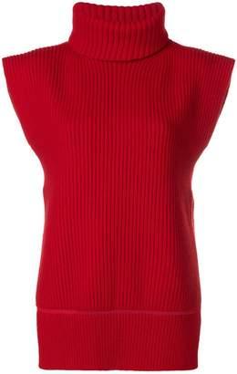 Alexander McQueen sleeveless knit sweater