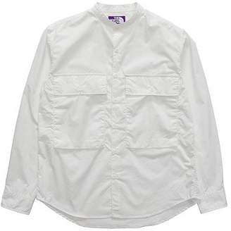 The North Face (ザ ノース フェイス) - THE NORTH FACE PURPLE LABEL Band Collar Shirt