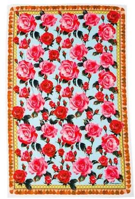 Dolce & Gabbana Printed Beach Towel w/ Tags