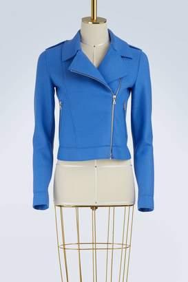 Harris Wharf London Wool biker jacket