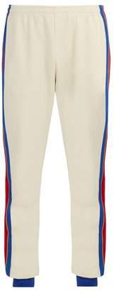 Gucci Side Stripe Track Pants - Mens - Cream