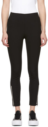 Rag & Bone Black Simone Zipper Trousers