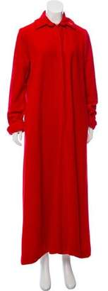 Christian Dior Velour Lounge Gown
