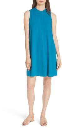 Eileen Fisher A-Line Silk Shift Dress