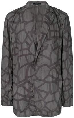 Issey Miyake abstract print jacket