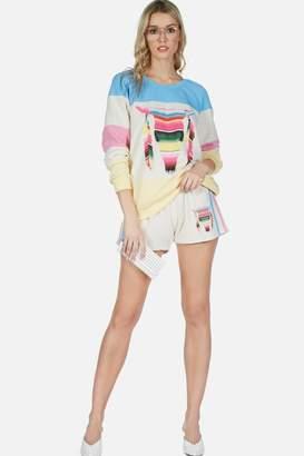 Lauren Moshi Shanda Smocked Shorts