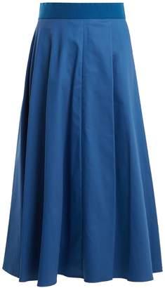 Sportmax Fiumana cotton-blend midi skirt