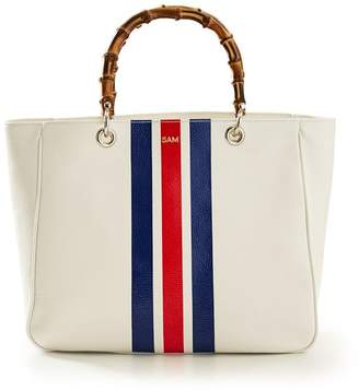 Mark And Graham Bamboo Elisabetta Tote, Striped
