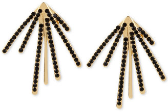 M. Haskell for INC International Concepts Pavé Fan Burst Earrings, Only at Macy's $26.50 thestylecure.com