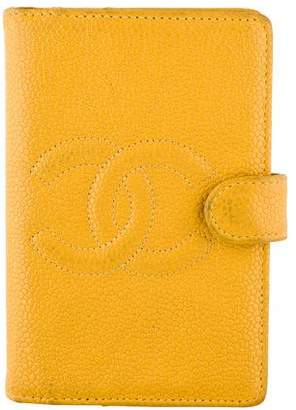 Chanel Caviar Timeless Mini Agenda Cover