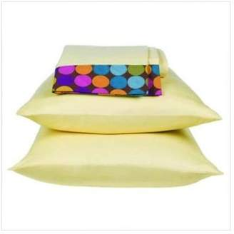 Bacati Dots and Stripes Spice Sheet Set in Bright Multicolor Size: Queen