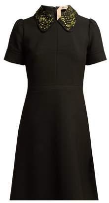 No.21 No. 21 - Embellished Mini Dress - Womens - Black Multi