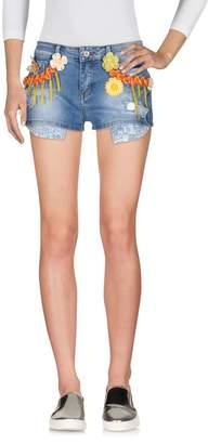 Angela Mele Milano Denim shorts