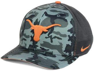 Nike Texas Longhorns Camo Hook Swooshflex Cap