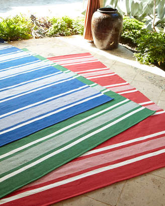 Ralph Lauren Home Harborview Stripe Indoor/Outdoor Rug, 8' x 10'