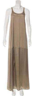 Thomas Wylde Sleeveless Maxi Dress