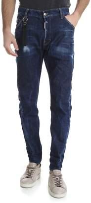 DSQUARED2 Kenny Cotton Denim Jeans