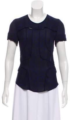 Isabel Marant Printed Short Sleeve Top